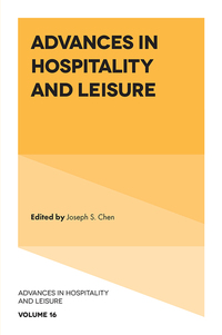 Jacket image for Advances in Hospitality and Leisure