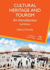 Jacket Image For: Cultural Heritage and Tourism