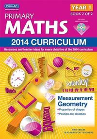 Jacket Image For: Primary Maths Year 1 Book 2