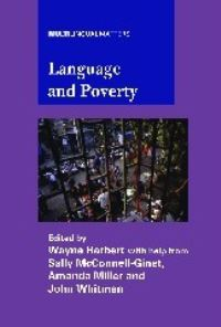 Jacket Image For: Language and Poverty