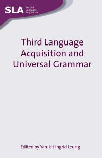 Jacket Image For: Third Language Acquisition and Universal Grammar