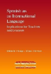 Jacket Image For: Spanish as an International Language