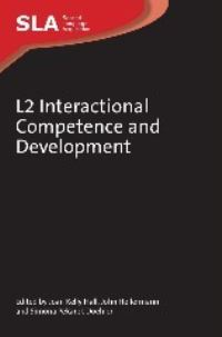 Jacket Image For: L2 Interactional Competence and Development