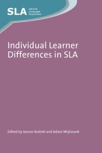 Jacket Image For: Individual Learner Differences in SLA