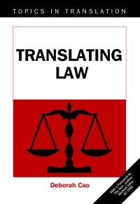 Jacket Image For: Translating Law