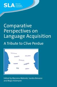 Jacket Image For: Comparative Perspectives on Language Acquisition