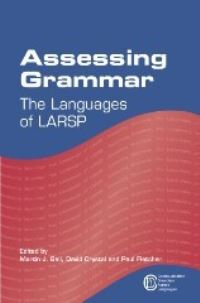 Jacket Image For: Assessing Grammar