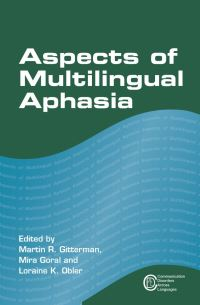 Jacket Image For: Aspects of Multilingual Aphasia