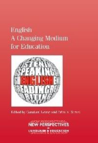 Jacket Image For: English - A Changing Medium for Education