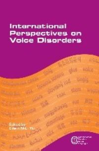 Jacket Image For: International Perspectives on Voice Disorders