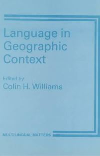 Jacket Image For: Language in Geographic Context