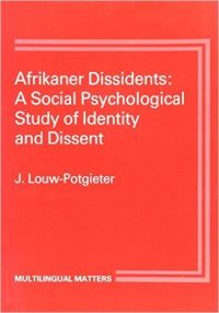 Jacket Image For: Afrikaner Dissidents