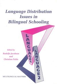 Jacket Image For: Language Distribution Issues in Bilingual Schooling
