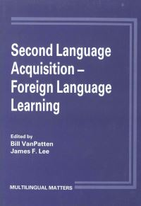 Jacket Image For: Second Language Acquisition/Foreign Language Learning