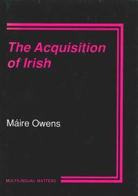 Jacket Image For: The Acquisition of Irish