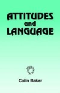 Jacket Image For: Attitudes and Languages