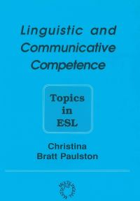 Jacket Image For: Linguistic and Communicative Competence