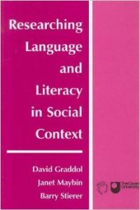 Jacket Image For: Researching Language and Literacy in Social Context