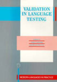 Jacket Image For: Validation in Language Testing