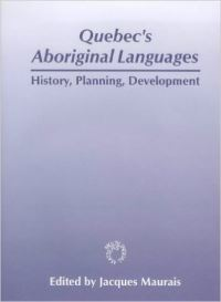 Jacket Image For: Quebec's Aboriginal Languages