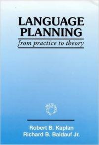 Jacket Image For: Language Planning