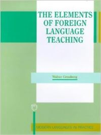 Jacket Image For: The Elements of Foreign Language Teaching