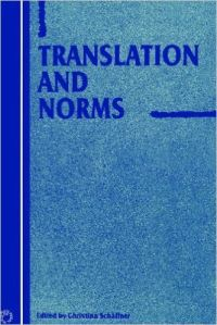 Jacket Image For: Translation and Norms
