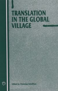 Jacket Image For: Translation in the Global Village