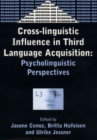 Jacket Image For: Cross-Linguistic Influence in Third Language Acquisition