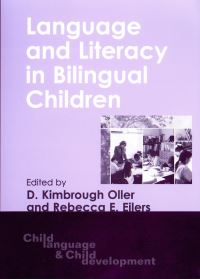 Jacket Image For: Language and Literacy in Bilingual Children
