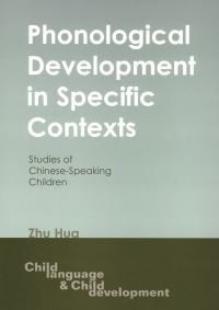 Jacket Image For: Phonological Development in Specific Contexts