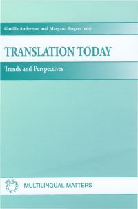 Jacket Image For: Translation Today