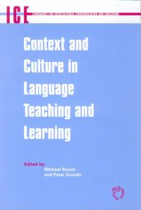 Jacket Image For: Context and Culture in Language Teaching and Learning