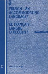 Jacket Image For: French - An Accommodating Language?