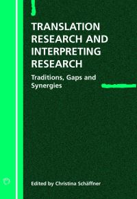 Jacket Image For: Translation Research and Interpreting Research