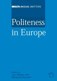 Jacket Image For: Politeness in Europe