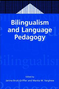 Jacket Image For: Bilingualism and Language Pedagogy