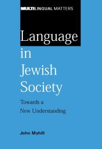 Jacket Image For: Language in Jewish Society