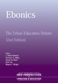 Jacket Image For: Ebonics