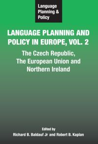 Jacket Image For: Language Planning and Policy in Europe Vol. 2
