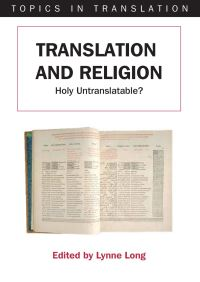 Jacket Image For: Translation and Religion