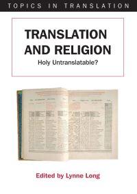 Jacket Image For: Translation and Religion