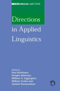 Jacket Image For: Directions in Applied Linguistics
