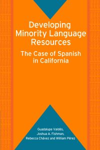 Jacket Image For: Developing Minority Language Resources