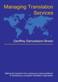 Jacket Image For: Managing Translation Services