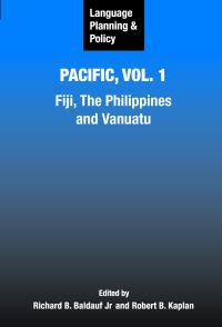 Jacket Image For: Language Planning and Policy in the Pacific, Vol 1