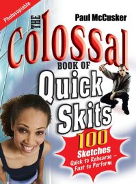 Jacket image for The Colossal Book of Quick Skits