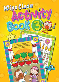 Jacket image for Wipe Clean Activity Book 3
