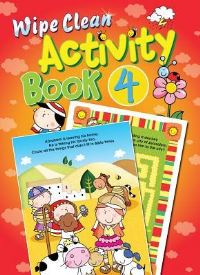 Jacket image for Wipe Clean Activity Book 4