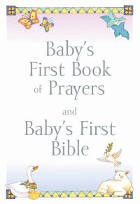 Jacket image for Baby's First Book of Prayers and Baby's First Bible